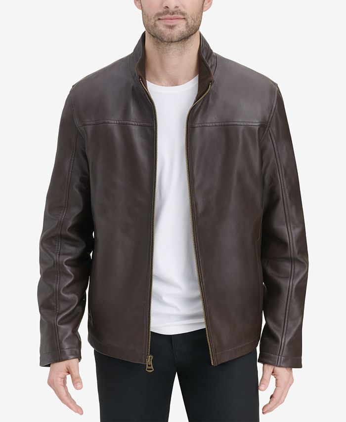 Cole Haan - Men's Smooth Leather Jacket