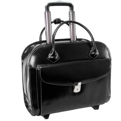 "Granville, 15"" Wheeled Ladies Laptop Briefcase"