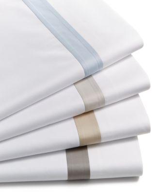 Sleep Luxe 800 Thread Count, Fashion Hem Pillowcase Pair, 100% Cotton Sateen, Created for Macy's