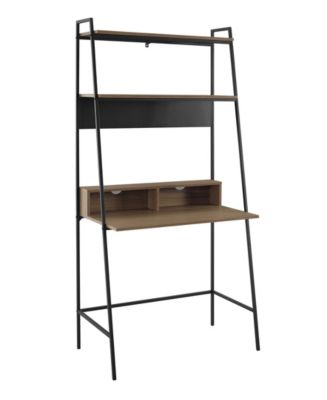 36 inch Metal and Wood Ladder Desk – useful workspace