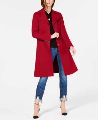 I.N.C. Cotton Ponte-Knit Coat, Created for Macy's