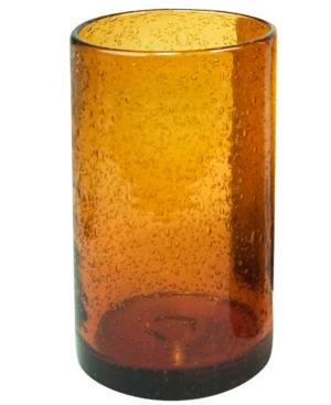 Artland Glassware, Iris Amber Highball Glass