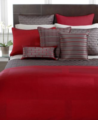Hotel Collection Frame Lacquer King Duvet Cover