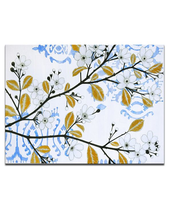 Ready2HangArt 'White Blossom' Canvas Wall Art, 20x30""