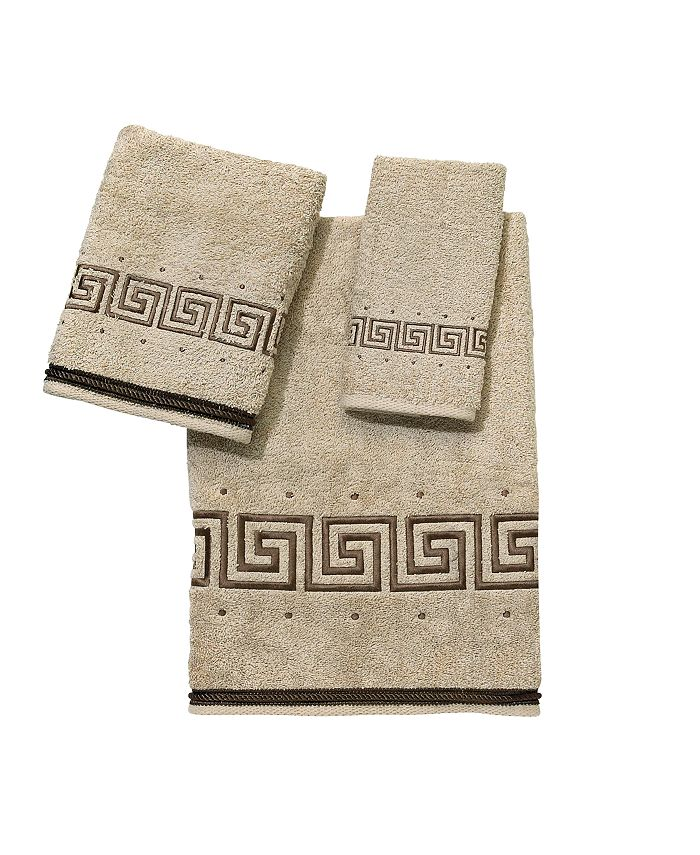 Avanti - Pre Athena Embroidered Greek Key Hand Towel