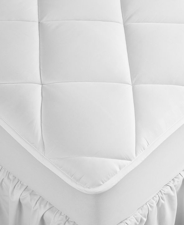 Hotel Collection Extra Deep California King Mattress Pad, Hypoallergenic, Down Alternative Fill, 500 Thread Count Cotton, Created for Macy's