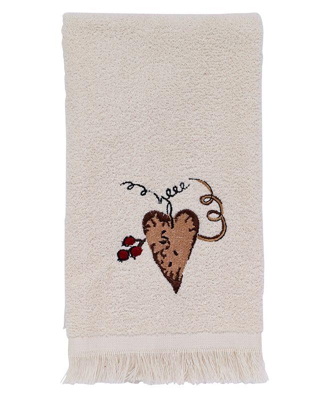 Avanti Hearts and Stars Fingertip Towel