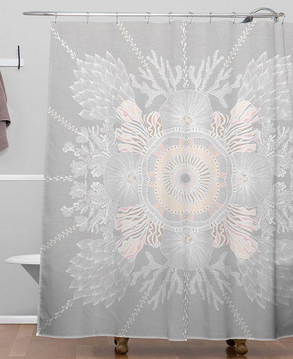 Deny Designs Iveta Abolina Bermuda Rose Shower Curtain