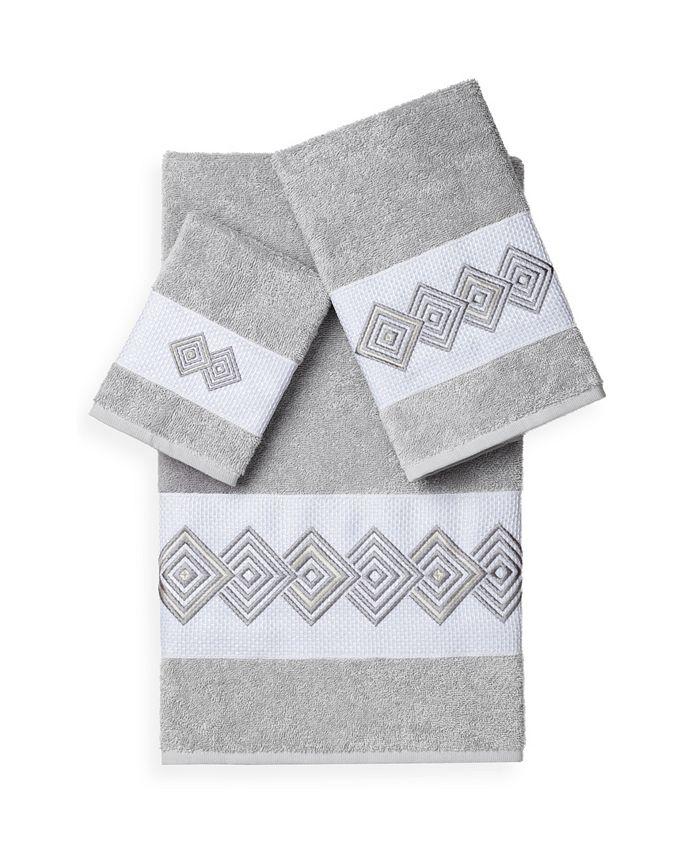Linum Home - NOAH 3PC Embellished Towel Set