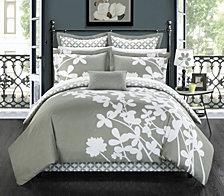 Chic Home Iris 7-Pc Queen Comforter Set