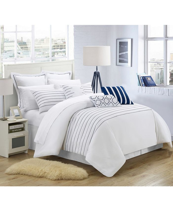 Chic Home - Brenton 9-Pc. Queen Comforter Set