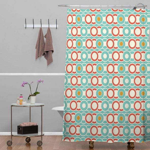 Deny Designs Heather Dutton Ring A Ding Shower Curtain