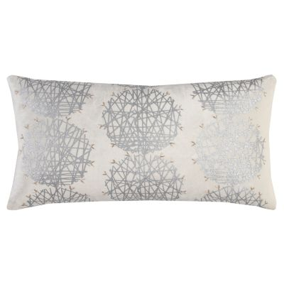 "11"" x 21"" Medallion Poly Filled Pillow"