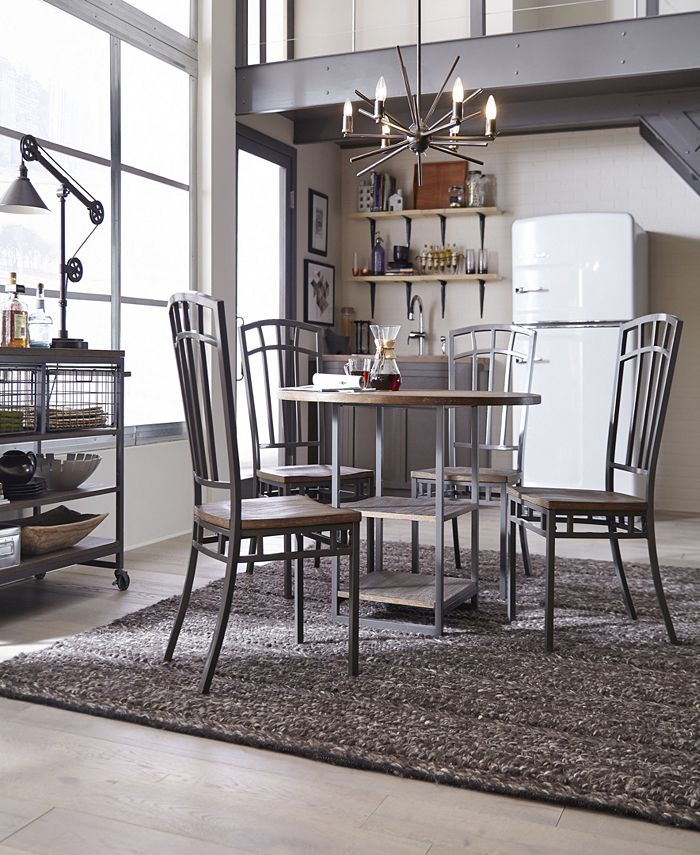 Home Styles - Barn side Metro 5 Pc Dining Set