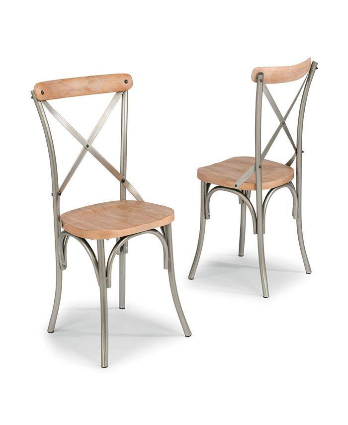 Home Styles - French Quarter Pair of Side Chairs