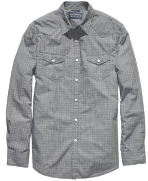 American Rag Shirt, EDV Grid Shirt