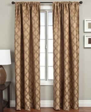 "softline window treatments, samara 55"" x 120"" panel bedding"