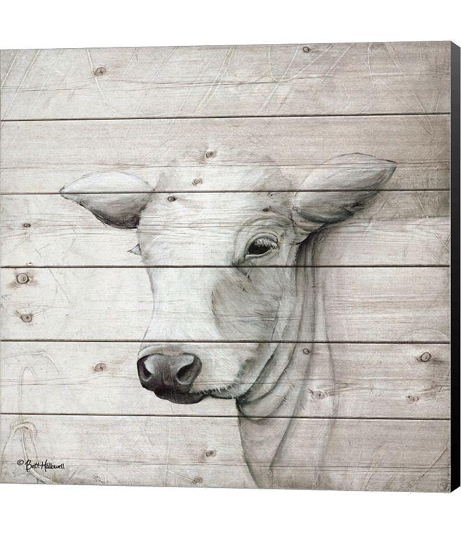 Metaverse January Cow II by Britt Hallowell Canvas Art