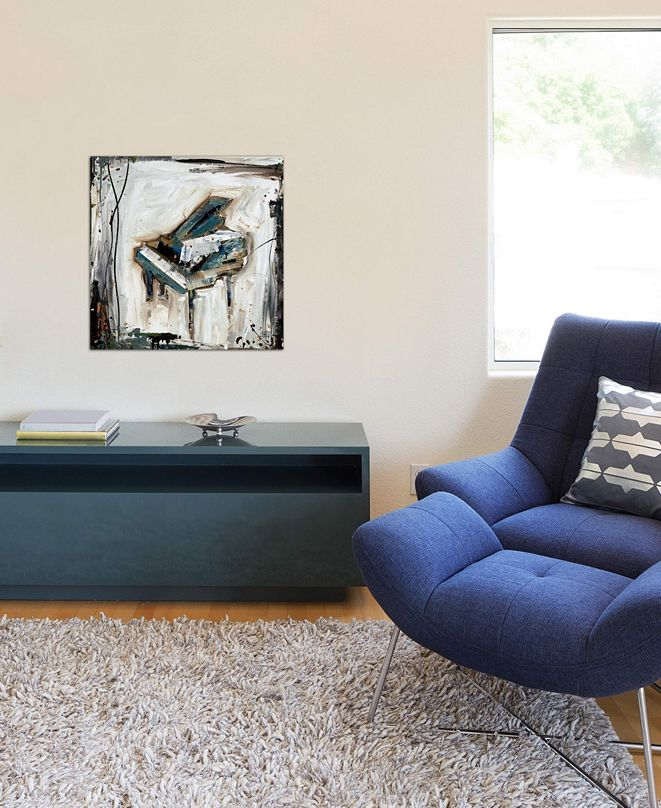 """iCanvas """"Imprint Piano"""" by Kelsey Hochstatter Gallery-Wrapped Canvas Print"""