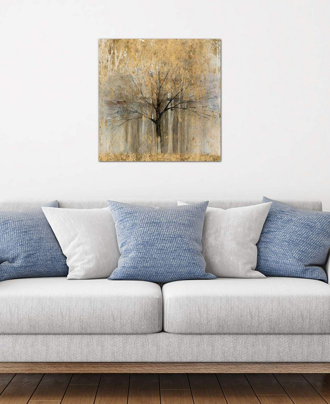 """iCanvas """"Open Arms Of Gold II"""" by Avery Tillmon Gallery-Wrapped Canvas Print (26 x 26 x 0.75)"""