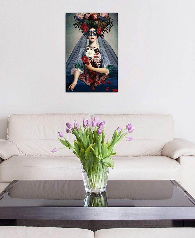 "iCanvas ""Dia de Los Muertos"" by Catrin Welz-Stein Gallery-Wrapped Canvas Print (26 x 18 x 0.75)"