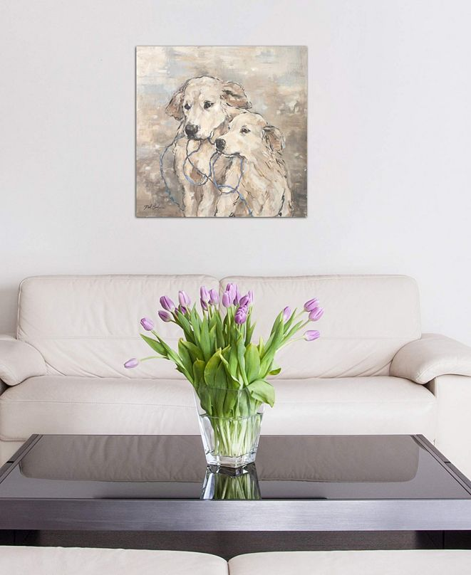 "iCanvas ""Family"" by Debi Coules Gallery-Wrapped Canvas Print (26 x 26 x 0.75)"
