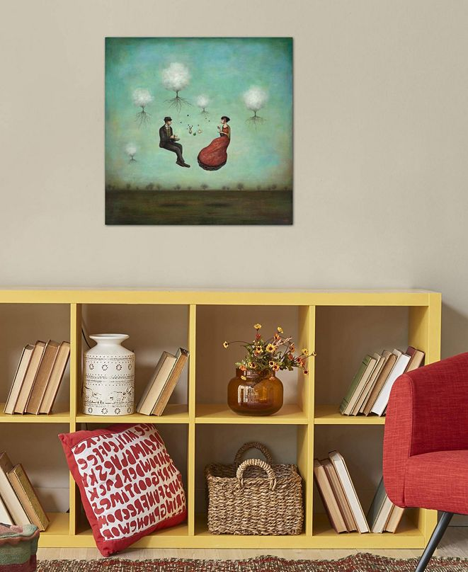 "iCanvas ""Gravitea For Two"" by Duy Huynh Gallery-Wrapped Canvas Print (26 x 26 x 0.75)"