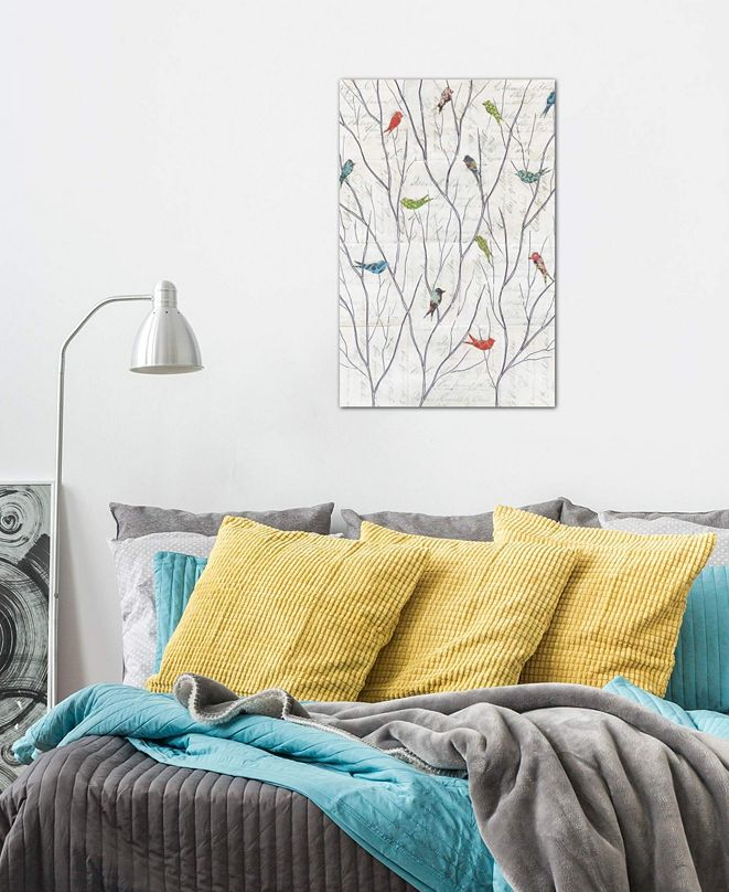 """iCanvas """"Summer Birds Background I"""" by Courtney Prahl Gallery-Wrapped Canvas Print (40 x 26 x 0.75)"""