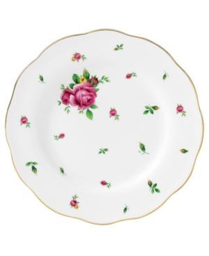 Royal Albert Dinnerware, Old Country Roses White Vintage Salad Plate