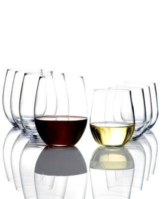 Riedel Wine Glasses, O Pay 6 Get 8 Cabernet & Chardonnay Set