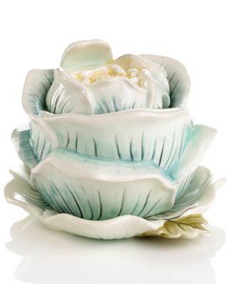 CLOSEOUT! Edie Rose by Rachel Bilson Serveware, Bloom Condiment Jar Set