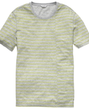 Calvin Klein Shirt, Crew Neck Printed T Shirt