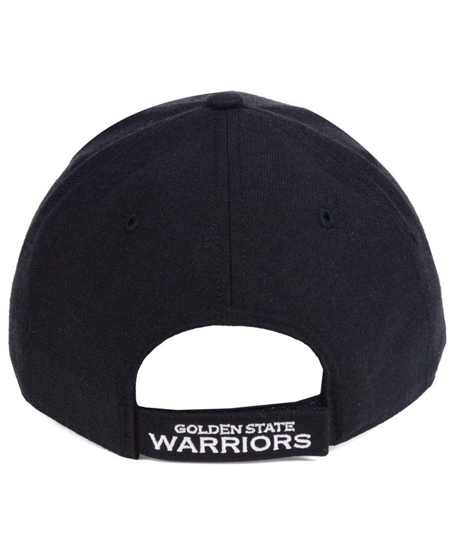 '47 Brand Golden State Warriors Black White MVP Cap & Reviews - Sports Fan Shop By Lids - Men - Macy's