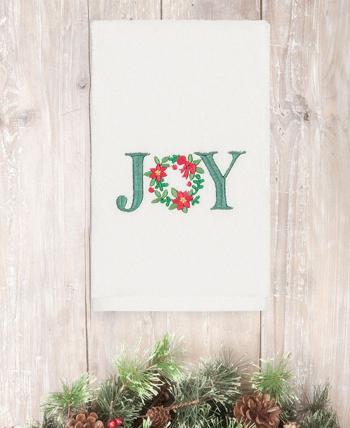 Linum Home - Christmas Joy 100% Turkish Cotton Hand Towel