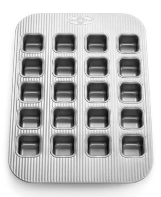 USA Pan Brownie Pan, 20 Count Brownie Bites