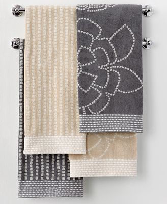 Martha Stewart Collection Calendula Bath Towel Collection Bath Towels Bed Bath Macy 39 S