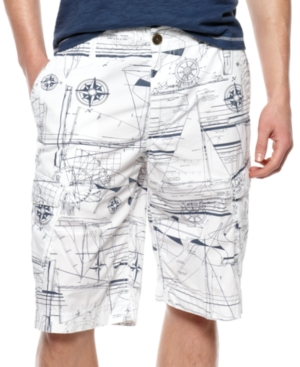American Rag Shorts, Nautical Graphic Shorts
