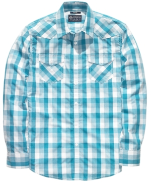 American Rag Shirt, EDV Buffalo Plaid