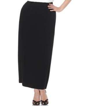 Kasper Plus Size Column Skirt