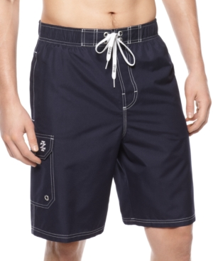 Izod Swimwear, Action Volley Swim Trunks