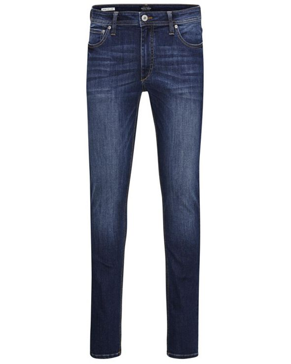 Jack & Jones Men's Slim Straight Fit Dark Blue Jeans