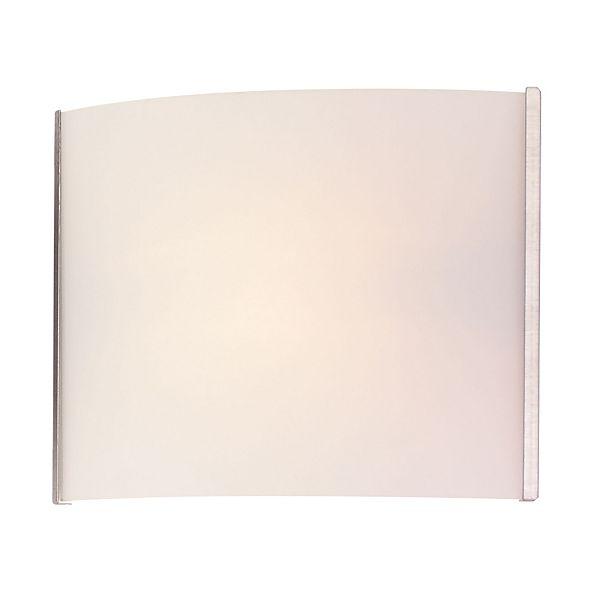 ELK Lighting Pannelli Vanity - 1 Light with Lamp. White Opal Glass / SS Finish