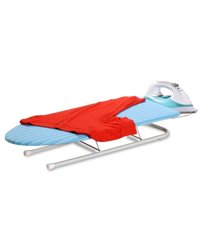 Honey Can Do - Tabletop Ironing Board with Retractable Iron Rest