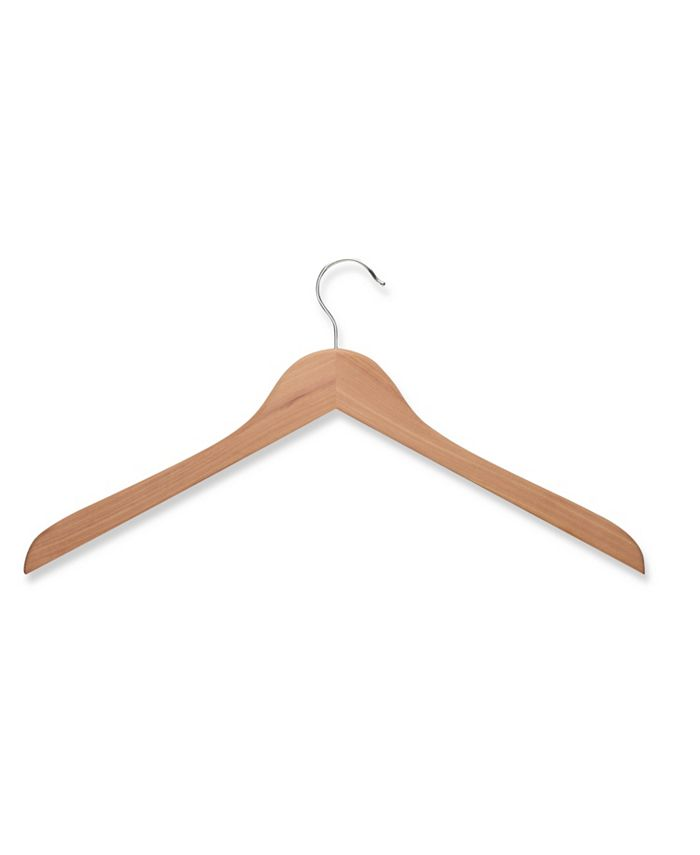 Honey Can Do - 5-Pc. Wood Shirt Hangers