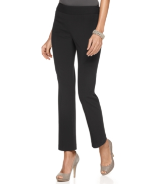 Alfani Pants, Straight Leg Trousers