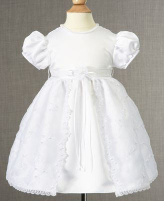 Lauren Madison Baby Dress Baby Girls Soutache Christening