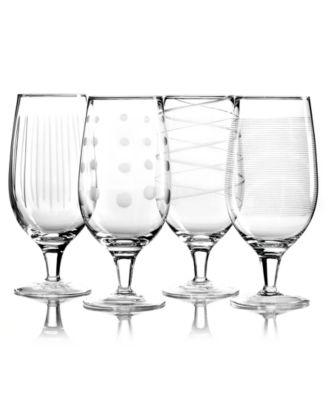 Mikasa Glassware, Set of 4 Cheers Iced Tea Glasses
