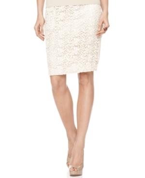Jones New York Skirt, Lace Pencil