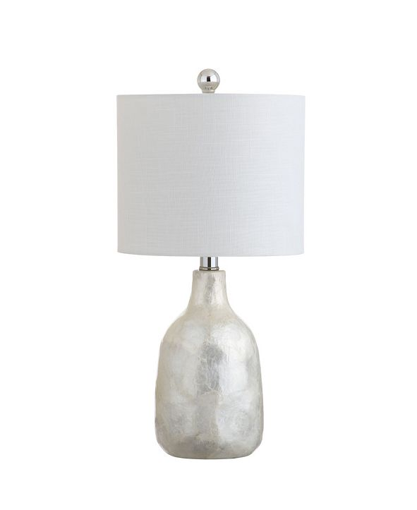 JONATHAN Y Lucille Seashell Led Table Lamp