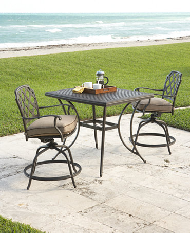 Commacys Outdoor Furniture : Grove Hill Outdoor Patio Bistro Set & Pieces - Furniture - Macys